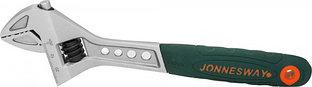 W27AT8 Ключ разводной эргономичный с пластиковой ручкой, 0-24 мм, L-200 мм