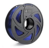 TPU пластик (филамент) 1,75 мм. CREOZONE (1кг.) цвет синий
