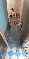 Реконструкция помывочной зоны. Адрес: г. Алматы, ул. Жанибекова 29