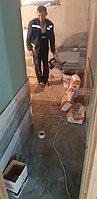 Реконструкция помывочной зоны. Адрес: г. Алматы, ул. Жанибекова 26