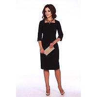 Платье женское «Джаконда», цвет чёрный, размер 54