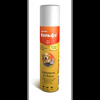 Спрей BOLFO Больфо аэрозоль для собак и кошек против клещей, блох, вшей и власоедов BAYER