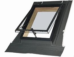 Окно-люк WSZ 86х86 см для нежилых помещений с универсальным окладом  Fakro