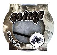 Слайм серебряный магнитный Mega Slime Ninja 300 гр, фото 1