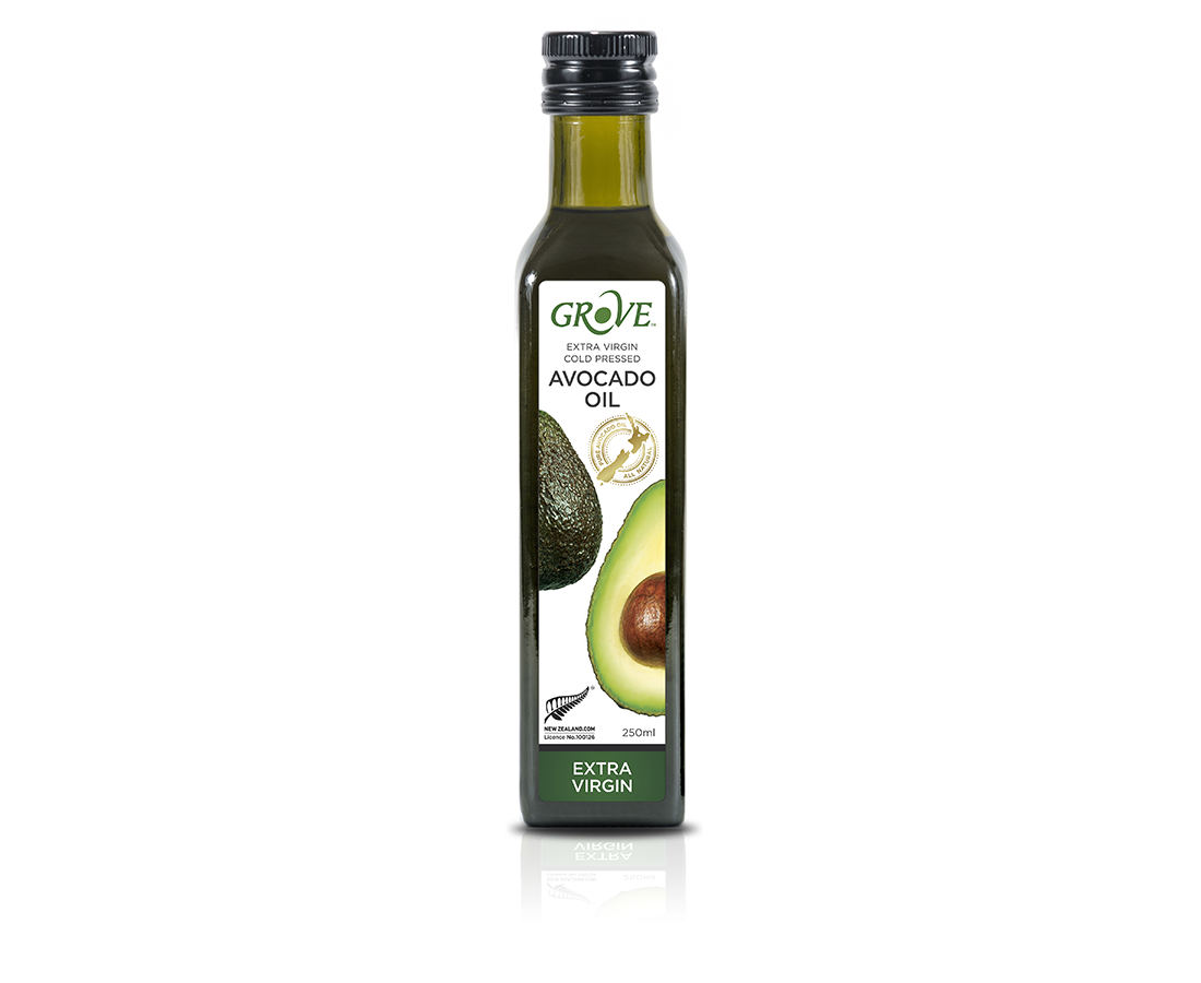 Масло авокадо GROVE классическое , Avocado Oil Extra Virgin  ,250 мл