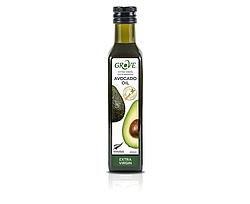 Масло авокадо GROVE классическое , Avocado Oil Extra Virgin  ,250 мл