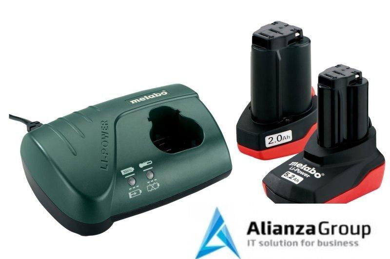 Базовый комплект Metabo 10,8 В Li-Power 1х2,0Ач + 1х5,2Ач + ЗУ LC 40 685067000