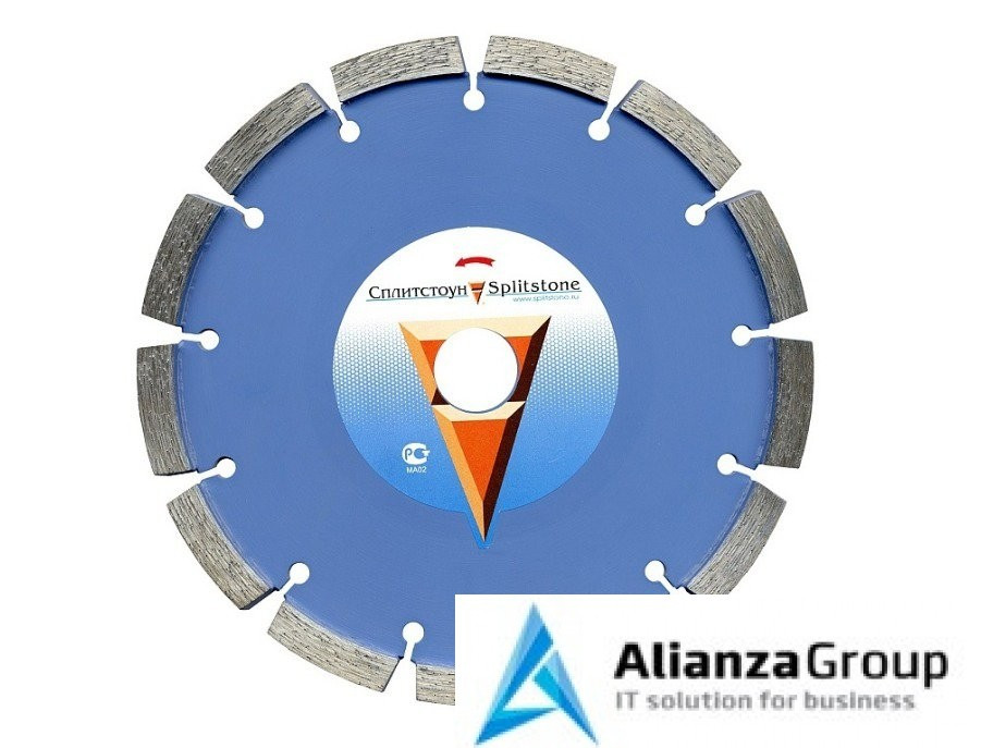 Алмазный диск Сплитстоун 350х25.4 (бетон, тяжелый бетон, железобетон) Professional 73091spl