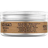 Гель-помада для волос сильной фиксации TIGI Bed Head for Men Slick Trick Pomade 100 мл.
