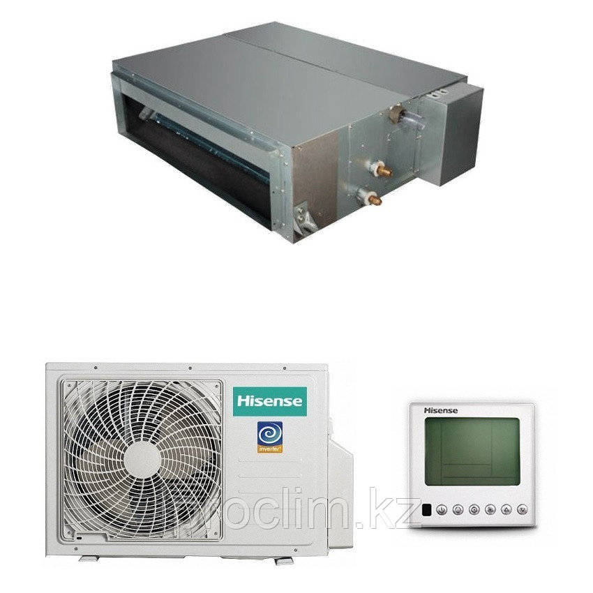 Канальный кондиционер Hisense AUD-24UX4SLL1/AUW-24U4SF1