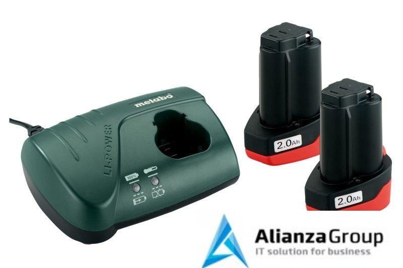 Базовый комплект Metabo 10,8 В Li-Power 2х2,0Ач + ЗУ LC 40 685066000