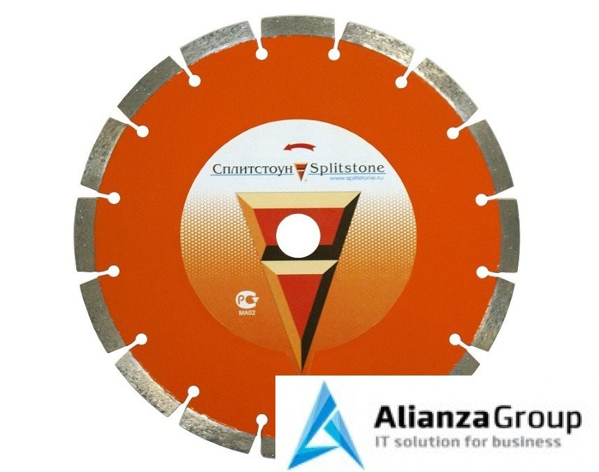 Алмазный диск Сплитстоун 600х25.4 (свежий бетон, кирпич, бетон) Premium 18278spl