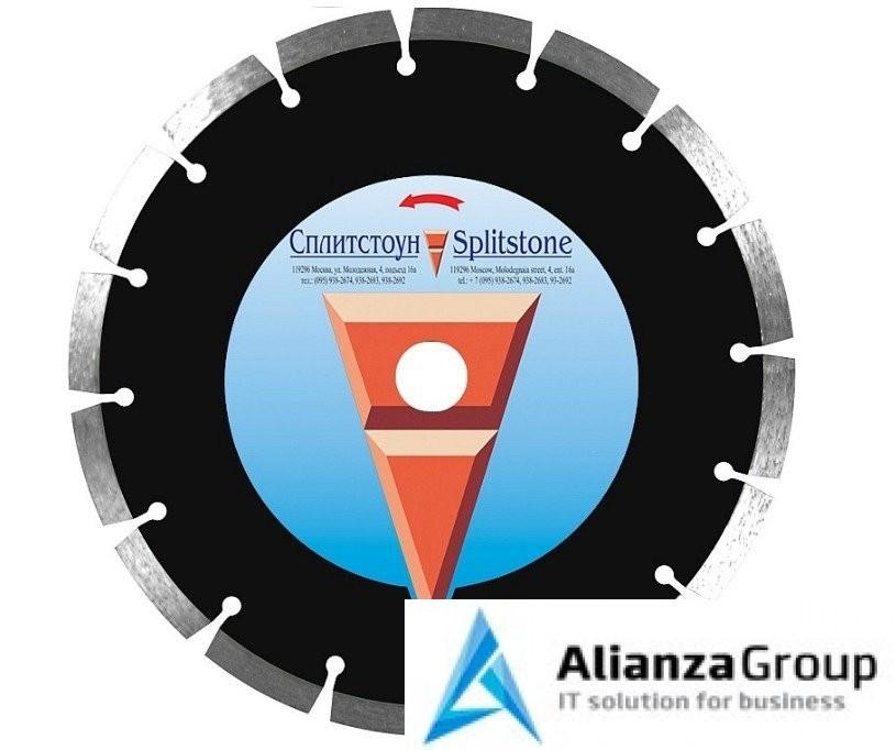 Алмазный диск Сплитстоун 350х25.4 (железобетон, гранит, бетон) Professional 73267spl
