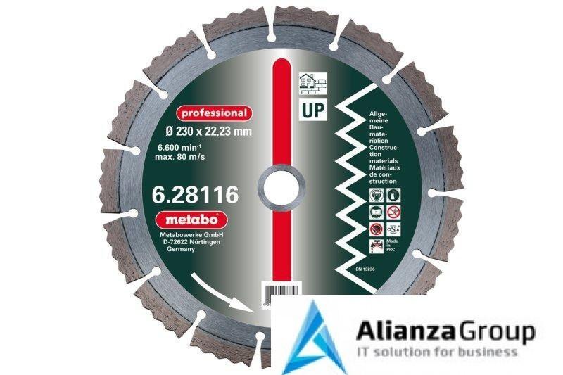Алмазный диск Metabo 230х22,23мм Professional UP универсальный 628116000