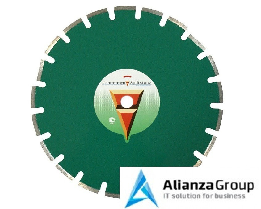 Алмазный диск Сплитстоун 450х25.4 (асфальт, кирпич, бетон) Premium 3136spl