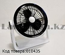 Настольный вентилятор вращающийся электрический HEJ HJ-180-6 белый
