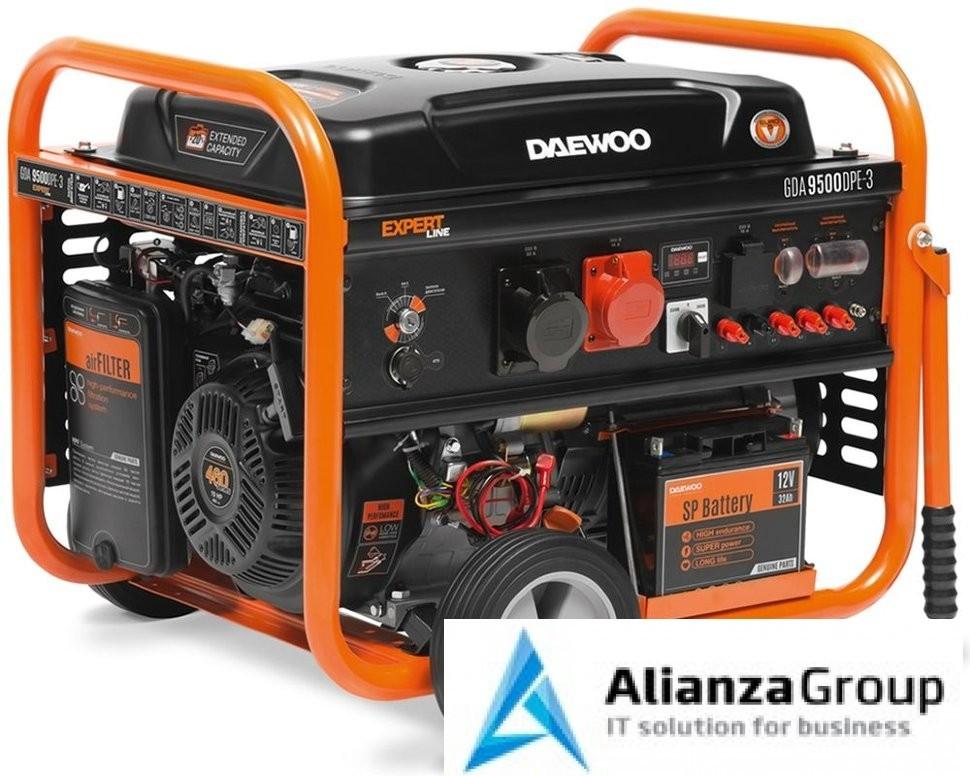 Генератор бензиновый DAEWOO GDA 9500DPE-3