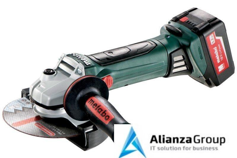 Аккумуляторная угловая шлифовальная машина Metabo W 18 LTX 150 Quick 600404650