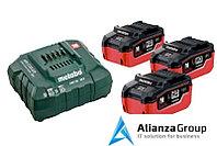 Базовый комплект Metabo 18 В LiHD 3х5,5Ач + ЗУ ASC 30-36V AIR COOLED 685074000