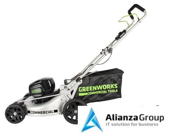 Газонокосилка GreenWorks 82V (46 см) бесщёточная 5 А.ч. АКБ и ЗУ
