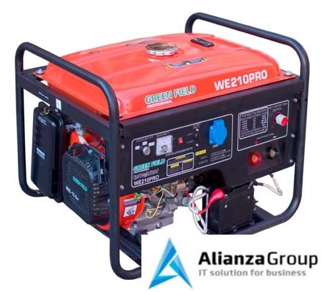 Бензиновый сварочный генератор Green Field WE-210PRO