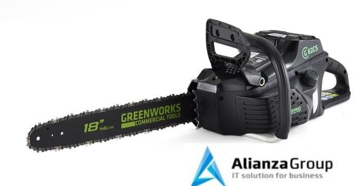 Аккумуляторная Бесщёточная Цепная пила Greenworks 82V (45 см) GD82CS50