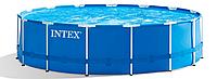 Бассейн каркасный Intex 28242NP Metal Frame