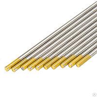 Электроды вольфрамовые КЕДР WL-15-175 Ø 3,0 мм (золотистый) AC/DC