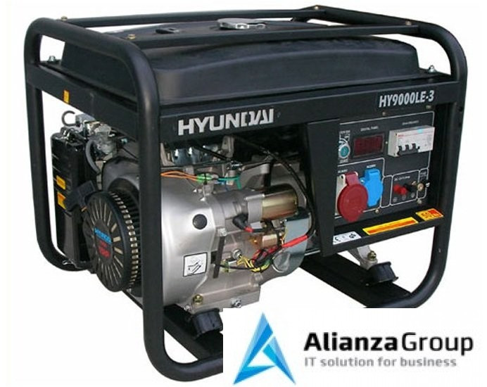Электростанция Hyundai HY9000LE-3