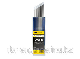 Электроды вольфрамовые КЕДР WZ-8-175 Ø 2,4 мм (белый) AC