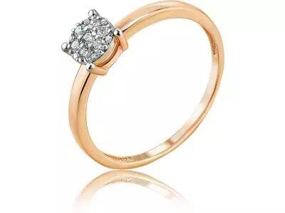 Золотое кольцо Diamond Union 5-3227-103-1К_16