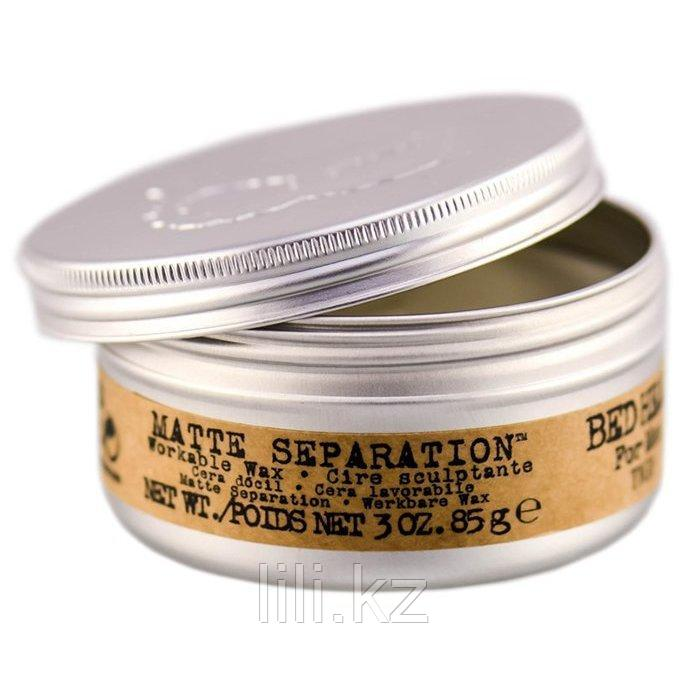 Воск для укладки волос TIGI Bad Head for men Matte Separation Wax 85 гр.