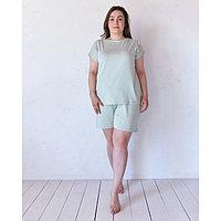 Шорты пижамные женские MINAKU: Mint & Chocolate цвет олива, р-р 50