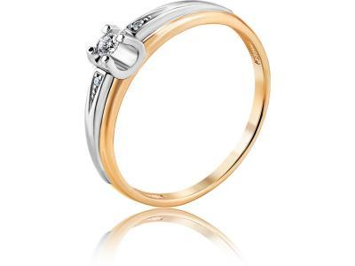 Золотое кольцо Diamond Union 5-3090-103-1К_18