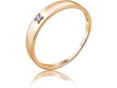 Золотое кольцо Diamond Union 5-2998-103-1К_155