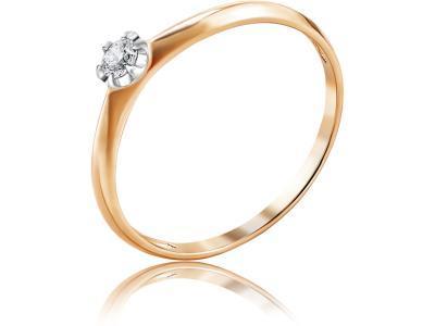 Золотое кольцо Diamond Union 5-2964-103-1К_18
