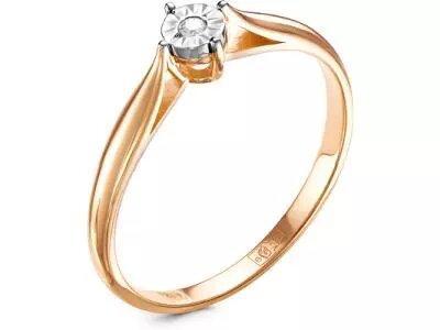Золотое кольцо Diamond Union 5-2939-103И1-1К_16