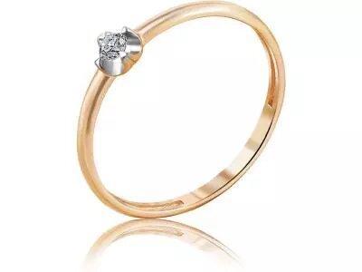 Золотое кольцо Diamond Union 5-2934-103-1К_165