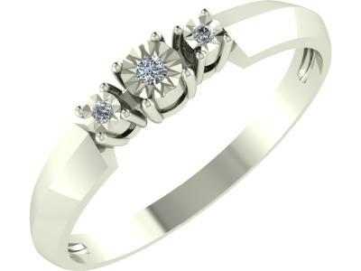 Золотое кольцо Diamond Union 5-2680-103И1-1Б_165