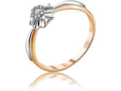 Золотое кольцо Diamond Union 5-2503-103ИНВ-1К_175