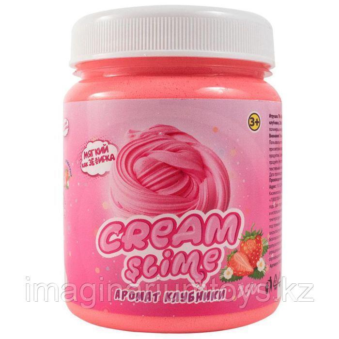СлаймCream-Slime c ароматом клубники , 250гр