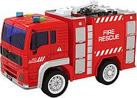 """Пожарная машина Инерционная, со звуком. """"City Service"""" Wenyi арт. WY550A"""