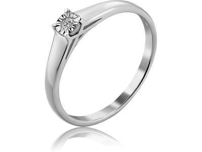 Золотое кольцо Diamond Union 5-2447-103И1-1Б_175