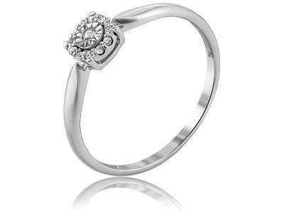 Золотое кольцо Diamond Union 5-2431-103И1-1Б_17