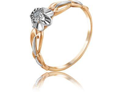 Золотое кольцо Diamond Union 5-2413-103И1-1К_175
