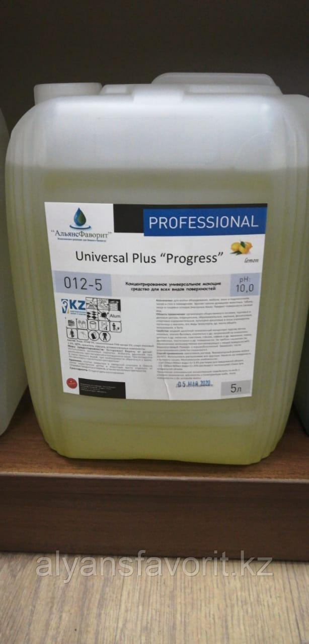 Universal Plus Progress- универсальное моющее средство для твердых поверхностей. 5 литров ПНД.РК