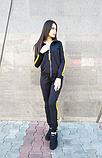 Женский черный спортивный костюм, фото 2