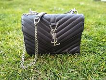 Женская сумка кросс-боди черная