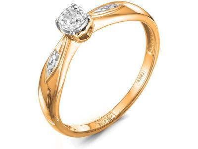 Золотое кольцо Diamond Union 5-2188-103И2-1К_165