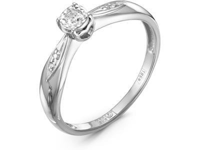 Золотое кольцо Diamond Union 5-2188-103И2-1Б_165